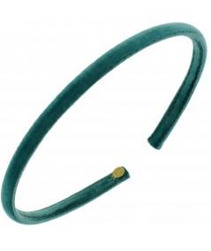 Skinny Velvet Headband - Petrol