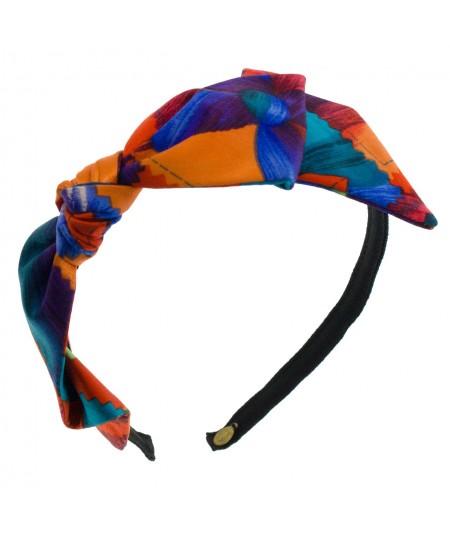 sp11-silk-print-side-bow-trimmed-headband