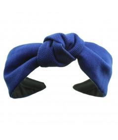 Royal Cotton Twill Harlow Turban Headband