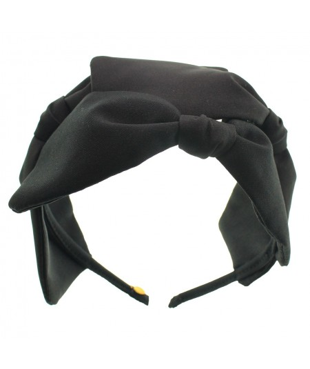 Black Palladium Headpiece with 3 Bows