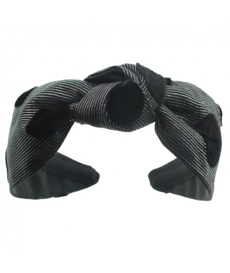 sl10-silver--black-dot-turban-headband