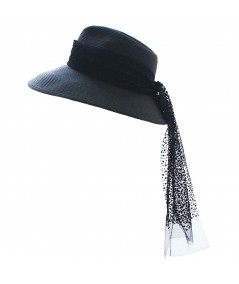 ht507-colored-stitch-straw-hat-with-dotted-veiling-band