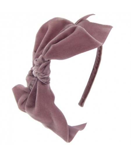 vv200-velvet-double-bow-detail-on-basic-headband