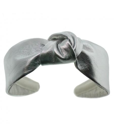 l410-metallic-leather-center-knot-turban