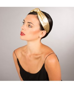l410-metallic-leather-center-knot-turban