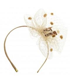 vn22--dotted-veiling-side-flower-puff-on-grosgrain-headband