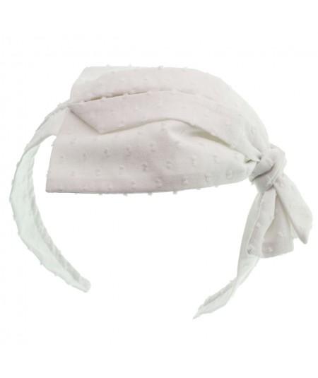 ct40-cotton-swiss-dotted-side-pleat-headband