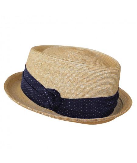 Porkpie Hat with Short Brim by Jennifer Ouellette