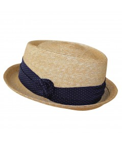 Porkpie Hat with Short Brim by Jennifer Ouellette
