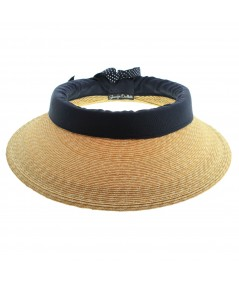 Summer Straw Full Crown Sun Visor