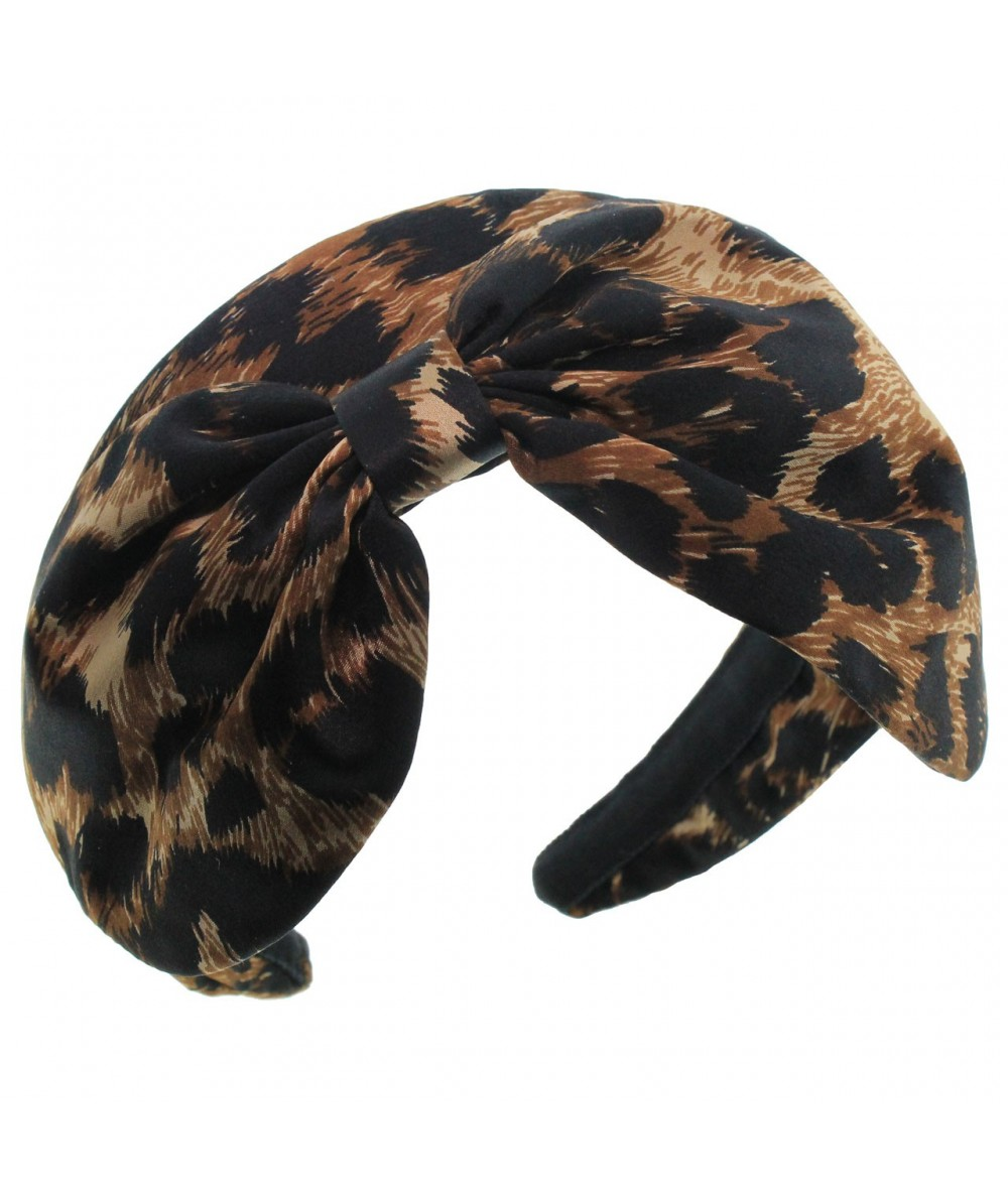 leop22-leopard-print-satin-padded-extra-large-bow-headband