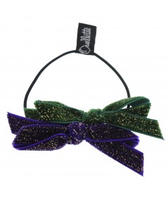 py491-velvet-sparkle-two-tone-colors-double-bow-pony
