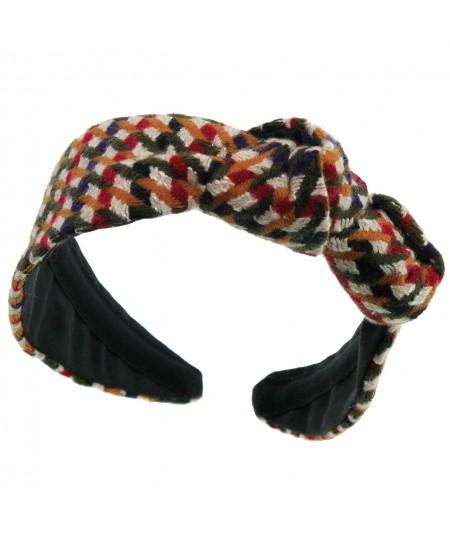 tw55-tweed-side-double-knot-turban-headband