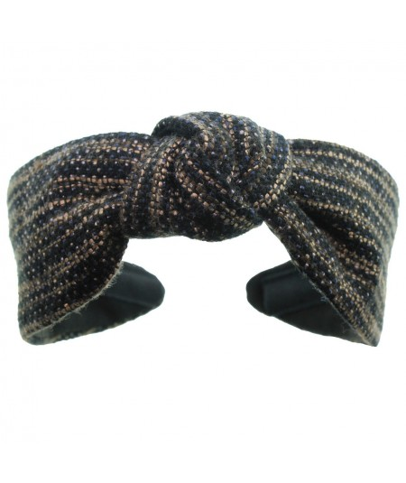 Bogey Wool Center Turban Headband