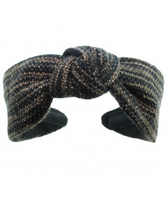 Bogey Wool Center Turban Headband