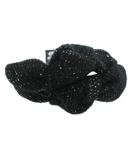 py510-tweed-double-knot-turban-pony-on-skinny-elastic