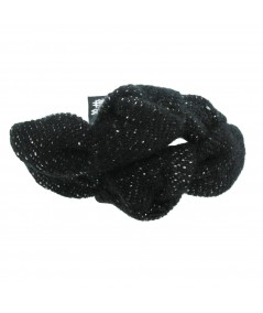 py510-tweed-double-knot-turban-pony-on-skinny-elastic