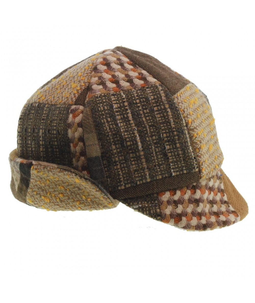 ht520-jo-recycled-tweeds-patchwork-flap-cap