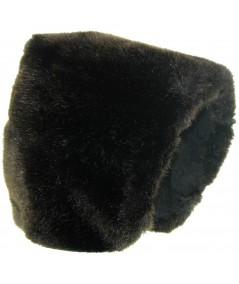 Faux Mink Fur Large Cuddle Cap for Women