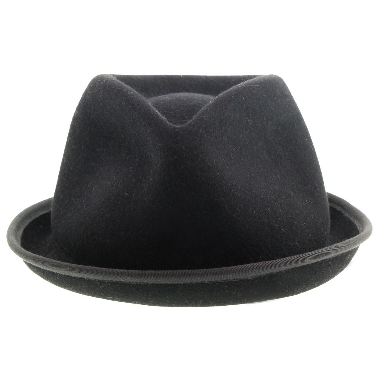 b170ebbc9b987 M43 Men s Felt Fedora Short Brim Hat