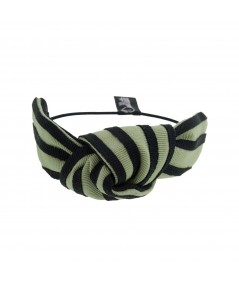 Grosgrain Stripe Bracelet or Ponytail Holder by Jennifer Ouellette