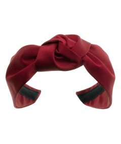 Satin Center Turban Headband