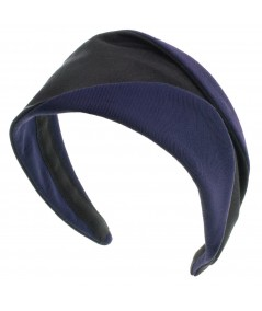Black Navy bengaline-wide-headband-with-contrast-detail