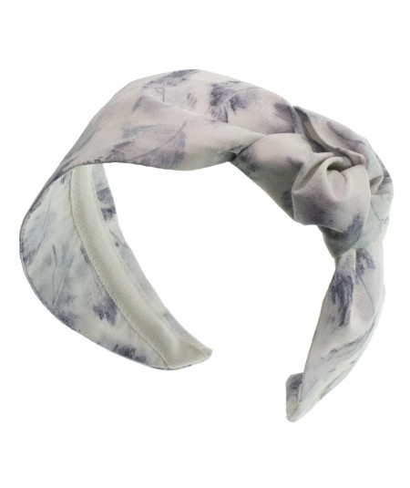 Feather Liberty Print Side Turban