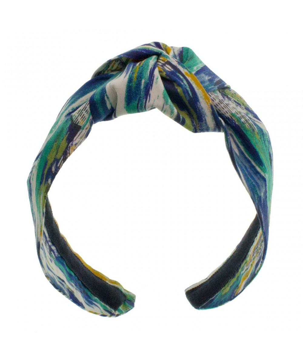 Liberty Print City Watercolor Print Center Turban