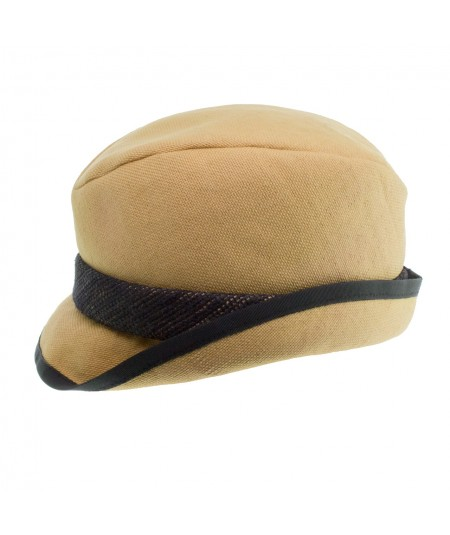 Men's Canvas Trilby with Contrast Band