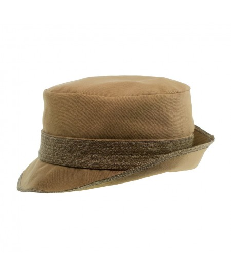 Men's Cotton Twill Hat with Toyo Trim Band