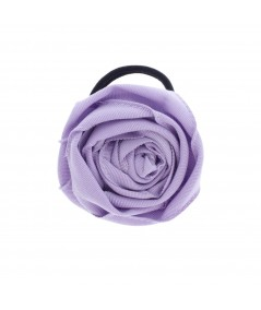 Grosgrain Rose Ponytail Holder by Jennifer Ouellette