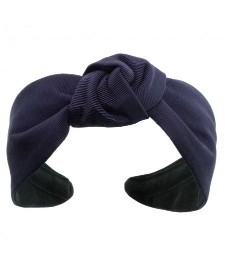 Navy bengaline-center-turban-headband