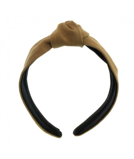 Wheat Cotton Twill Harlow Turban Headband