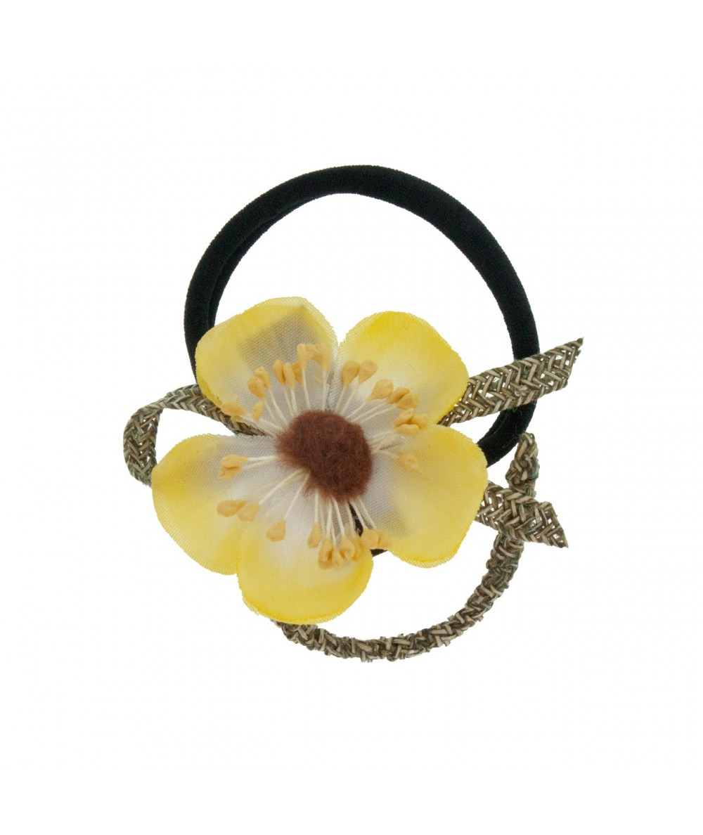 Flower Ponytail Holder by Jennifer Ouellette