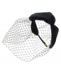 Women's Twist with Veil Fascinator