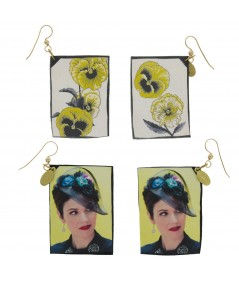 JenO Flower Reversible Earrings