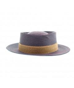 Summer Boater Hat by Jennifer Ouellette