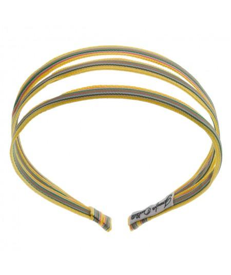 grosgrain stripe 3 piece headband