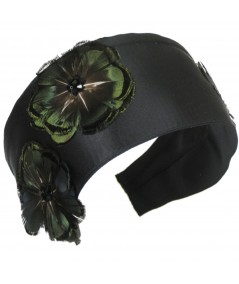 ft55x-extra-wide-satin-headband-adorned-with-feather-flowers