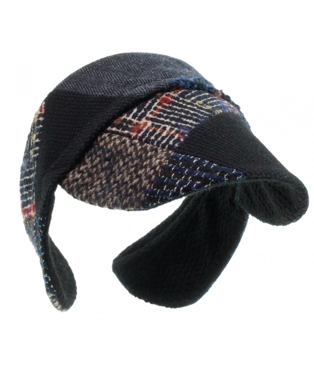 Recycled Patchwork Earmuff Visor