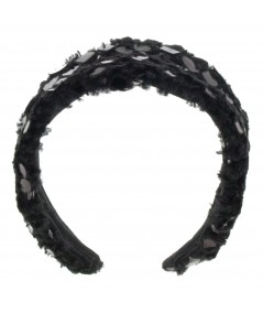 faux-fur-headband-with-pvc-dots