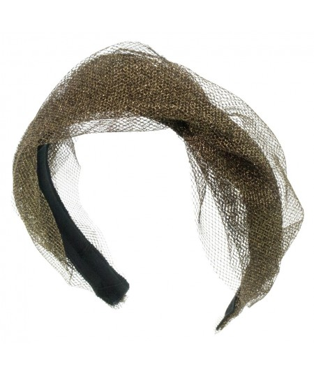 metallic-tulle-twist-headband