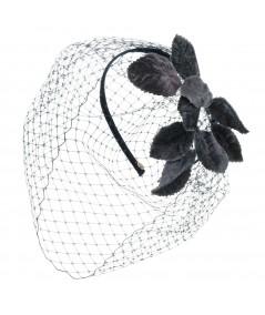 velvet-leaves-trimmed-veil-headband