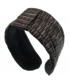 Boucle Pleated Earmuffs