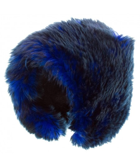 Two-Tone Faux Fur Short Cuddle Cap