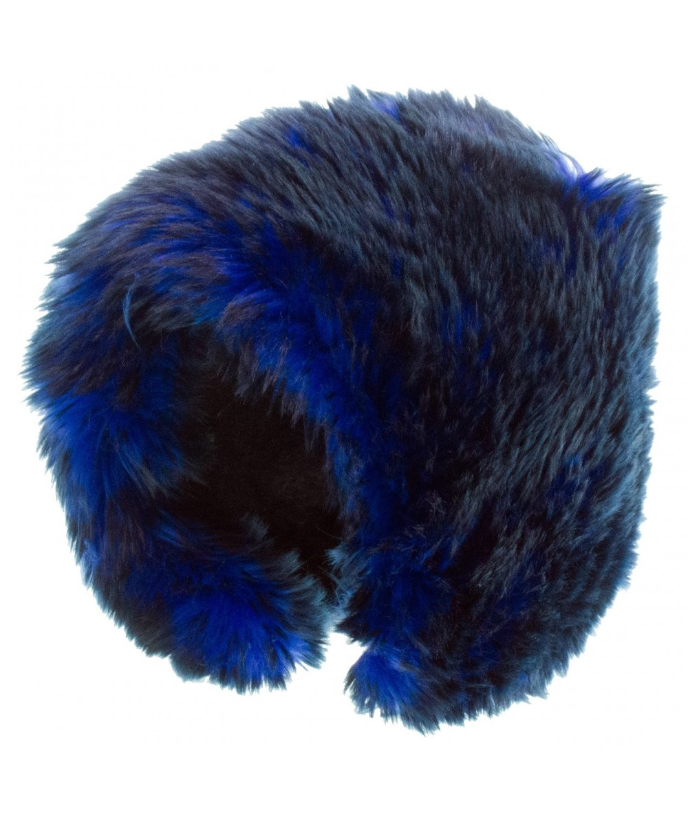 Two-Tone Faux Fur Short Cuddle Cap