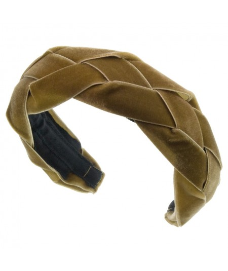 Nuss Velvet Braided Ribbon Headband