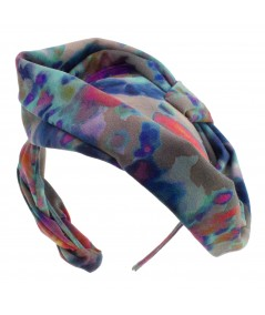 Silk Print Headpiece