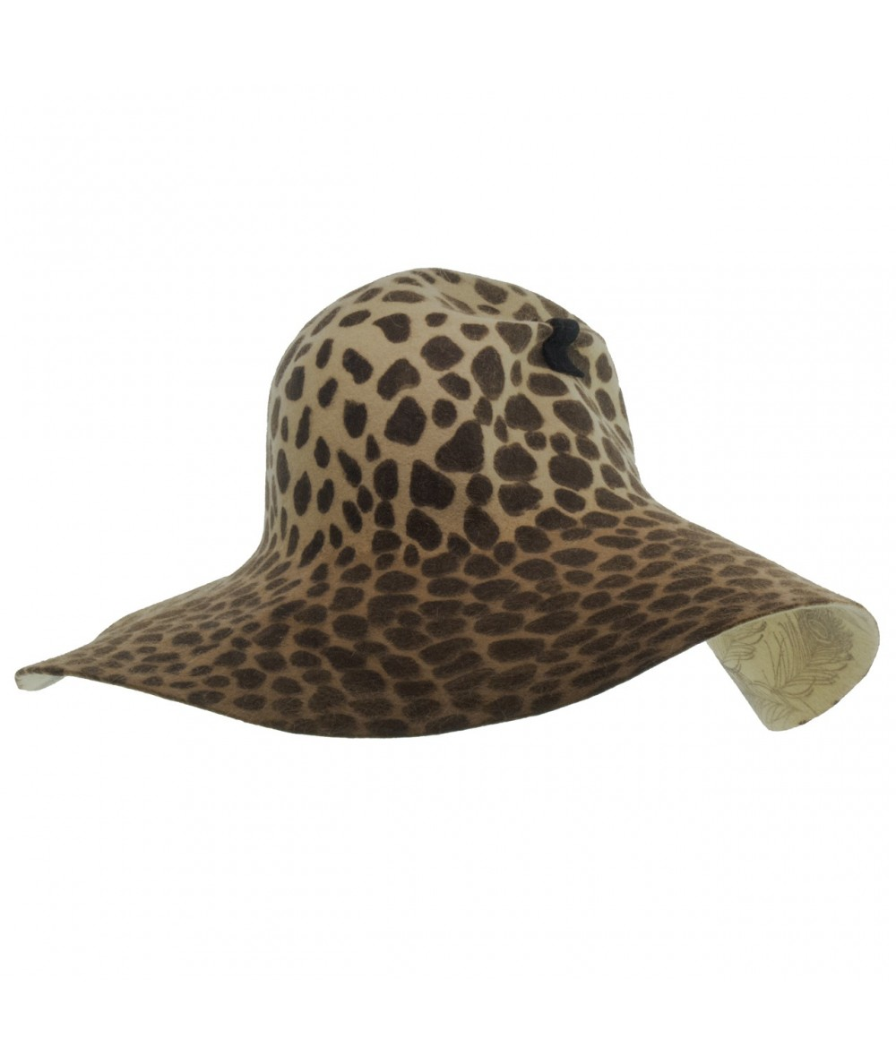 e71c1b807 Leopard Animal Print Floppy Hat